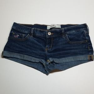 Hollister Jean Shorts Blue Denim